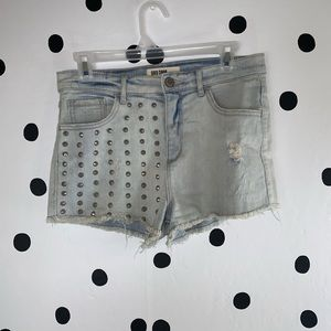 ☀️BOGO☀️EUC GRG DNM studded shorts light color 5